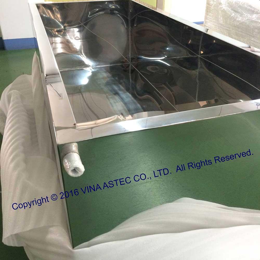 Pre-shipment washing tank for seafood/Bể rửa thủy sản trước khi vận chuyển