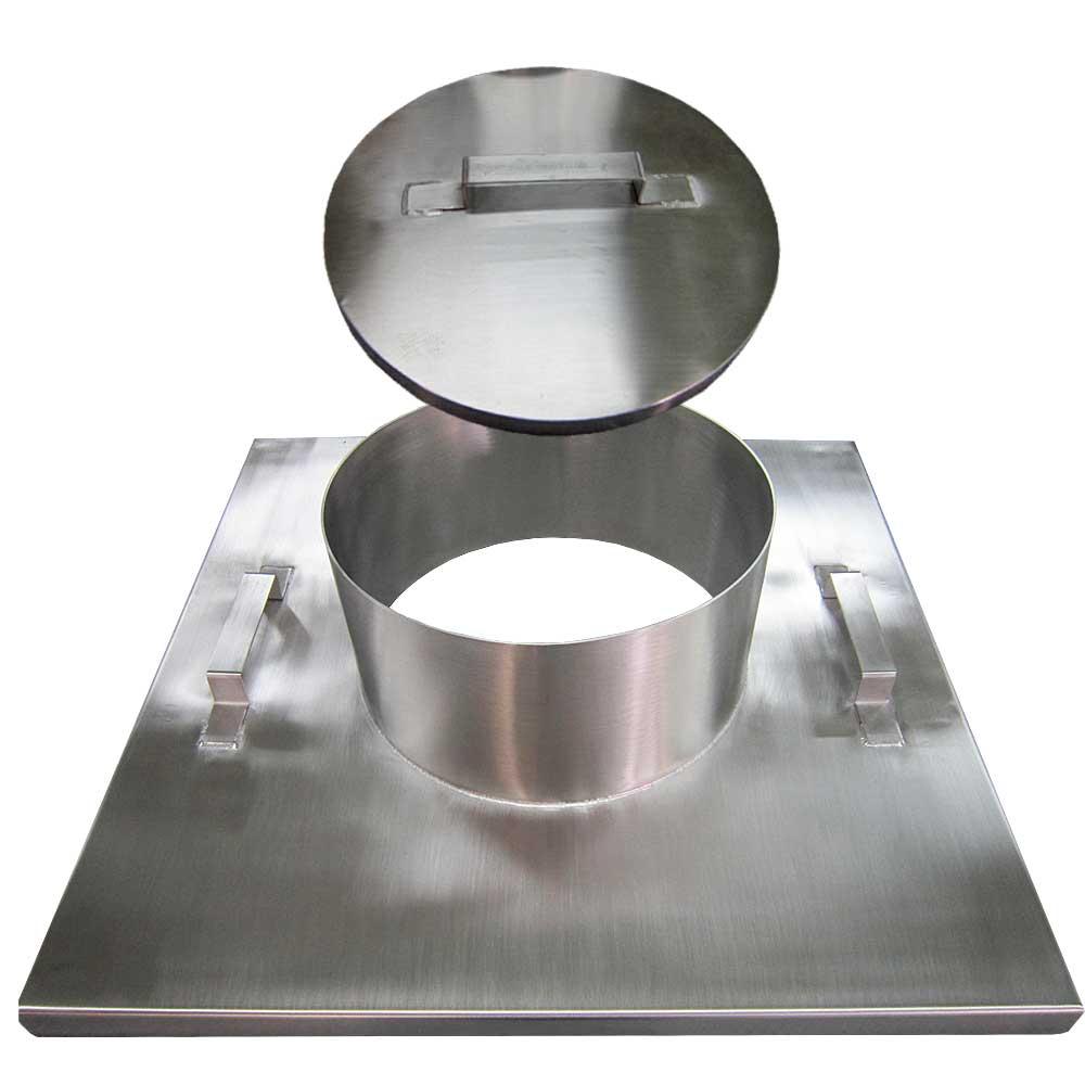 Tank lid and lid attachment / Nắp bình và phần lắp nắp